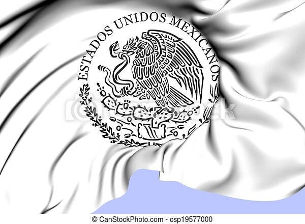 Federal Government of Mexico Seal - csp19577000