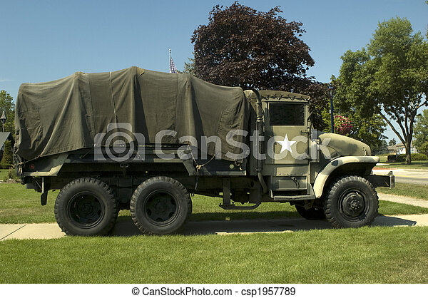 Military Vehicle - csp1957789