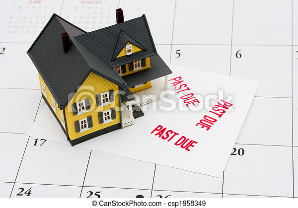 Overdue Mortgage - csp1958349