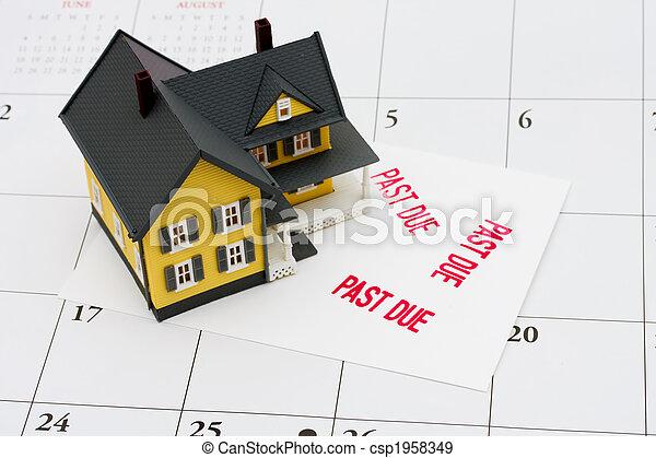 Overdue Mortgage - csp1958349