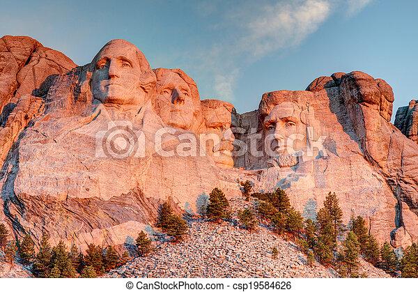 Rushmore, 建立, 國家, 紀念館 - csp19584626
