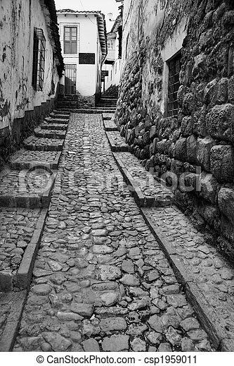 Narrow street - csp1959011