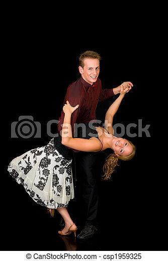 Ballroom dancers - csp1959325