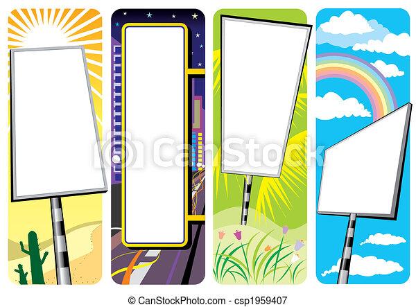 Signboard - csp1959407