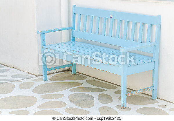 Bench park - csp19602425