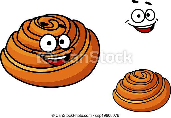 Sticky bun Illustrations and Clipart. 33 Sticky bun royalty free ...