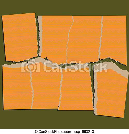 Torn Paper Puzzle Series - csp1963213