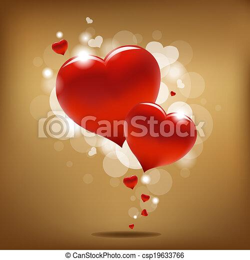 Valentines Day Background - csp19633766