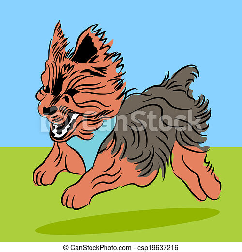 Yorkie Clip Art Vector and Illustration. 73 Yorkie clipart vector ...