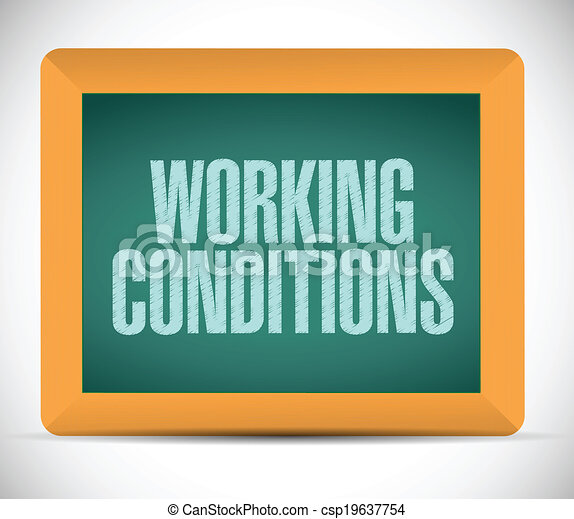 Sep 26, · Working conditions are at the core of paid work and employment relationships. Generally speaking, working conditions cover a broad range of topics and issues, from working time (hours of work, rest periods, and work schedules) to remuneration, as well as the physical conditions and mental demands that exist in the workplace.