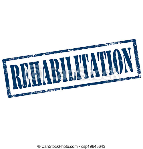 Rehabilitation-stamp - csp19645643