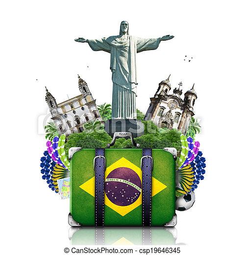 Brazil, Brazil landmarks, travel - csp19646345