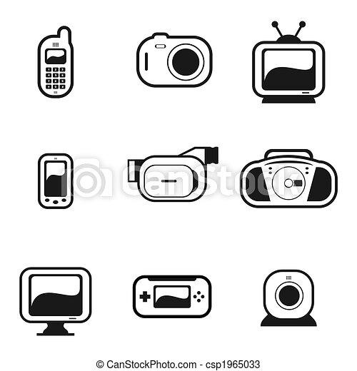 Electronic Gadgets - csp1965033