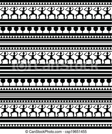 clipart vektor von maori abbildung gypten muster. Black Bedroom Furniture Sets. Home Design Ideas