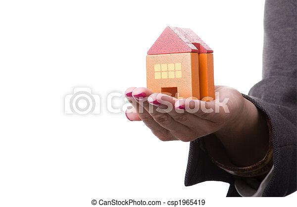 House insurance - csp1965419