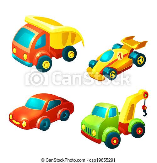Transport toys set - csp19655291