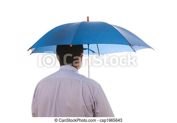 insurance agent businessman - csp1965643