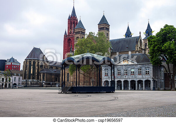 Churches in Maastricht - csp19656597