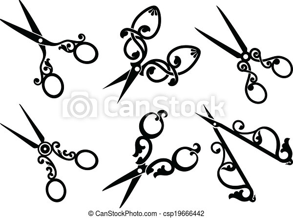 Scissors Illustrations and Clip Art. 28,105 Scissors royalty free ...