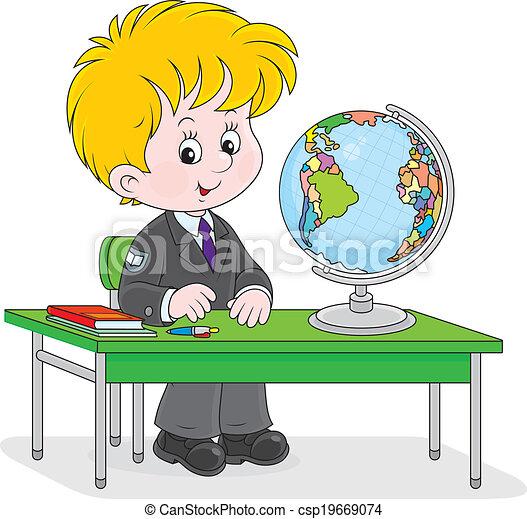 estudiante geografia: