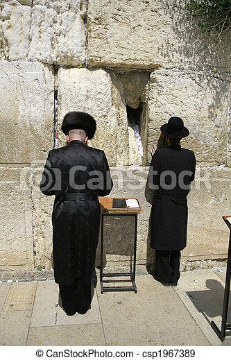 Hasidic jews - csp1967389