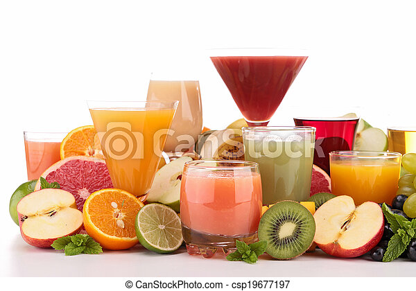fruit juice - csp19677197