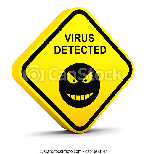 Warning: virus detected - csp1968144