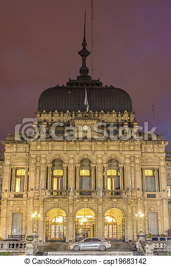 Government Palace in Tucuman, Argentina. - csp19683142