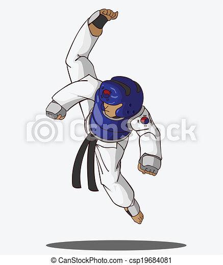 Taekwondo Martial art - csp19684081
