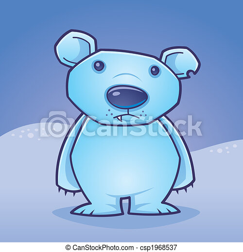 Polar Bear Cub - csp1968537