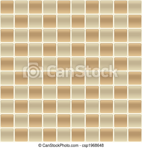 Checkered Tile Back Splash - csp1968648