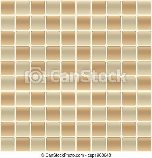 Checkered Tile Back Splash - csp1968648
