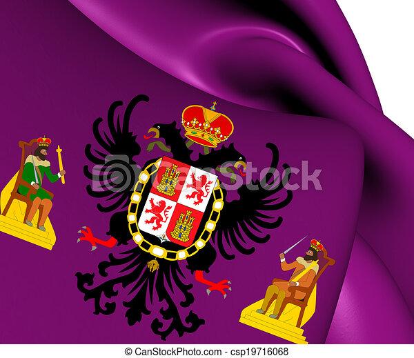 image de drapeau toledo ville espagne fin haut csp19716068 recherchez des photographies. Black Bedroom Furniture Sets. Home Design Ideas