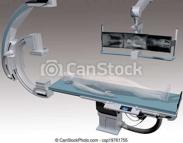 Medical imaging scan patient health - csp19761755