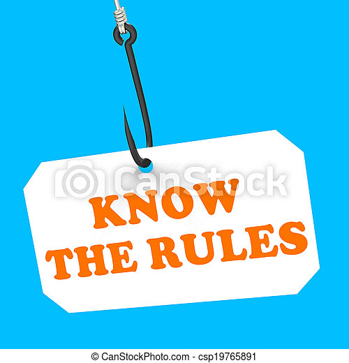 Know The Rules On Hook Shows Policy Protocol Or Law Regulations - csp19765891