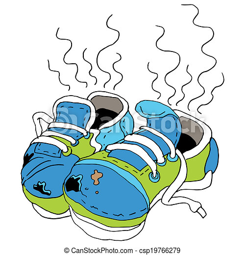 Old Smelly Shoes Clip Art