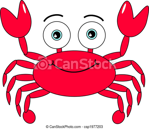 Cartoon Crab - csp1977203