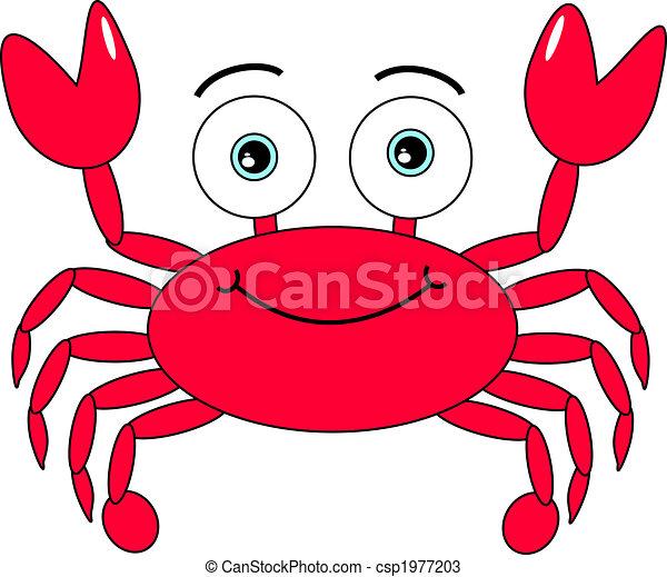 Cartoon Crab - csp1977203