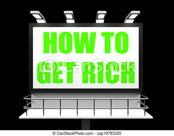 how to get rich off stocks