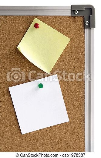 Notice Board - csp1978387