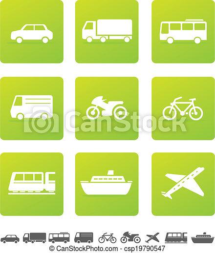 Transportation Icons - csp19790547