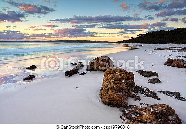 Hyams Beach Sunrise NSW Australia - csp19790818