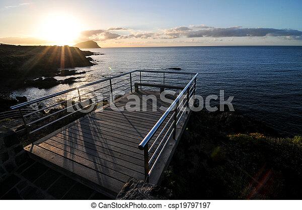 Sunrise Pier - csp19797197