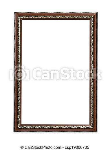 retro picture frame - csp19806705