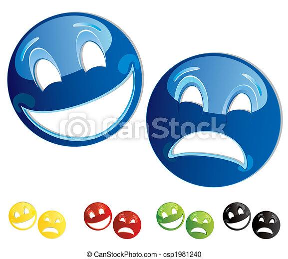 comedy tragedy masks - csp1981240