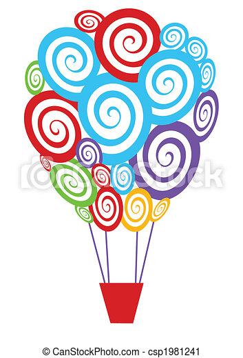 hot air balloon - csp1981241