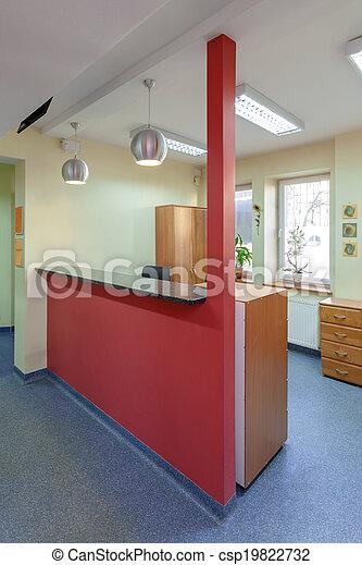 Reception area - csp19822732