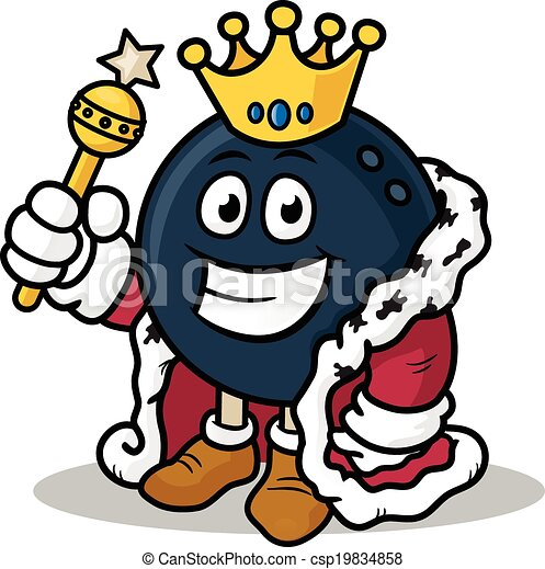 clipart vector of bowling king bowling king vector bowling alley clipart Bowling Ball Clip Art