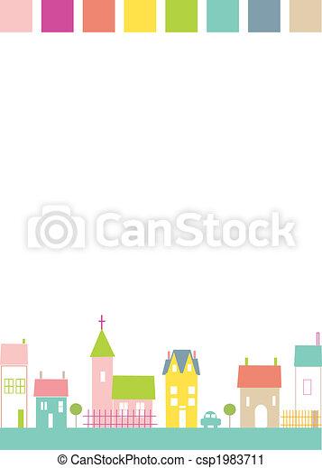 town - csp1983711