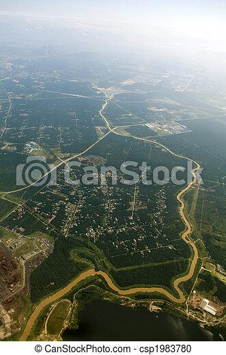 Aerial View. - csp1983780